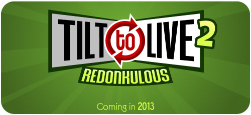 Twist, shout, and shoot in Tilt to Live 2: Redonkulous for iOS