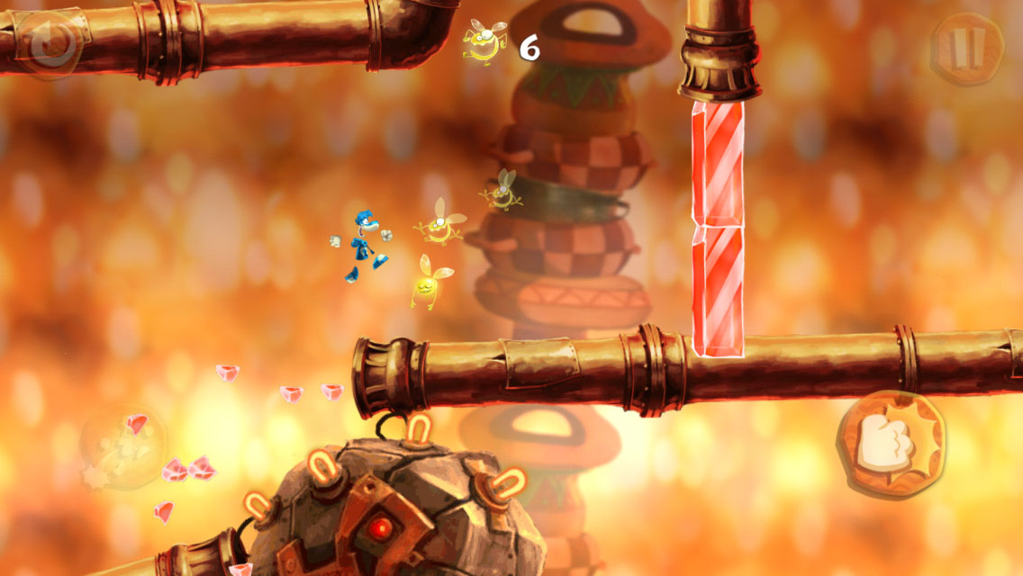 Negotiate a tasty food-themed world and collect coveted Lums in Rayman Fiesta Run [Sponsored]