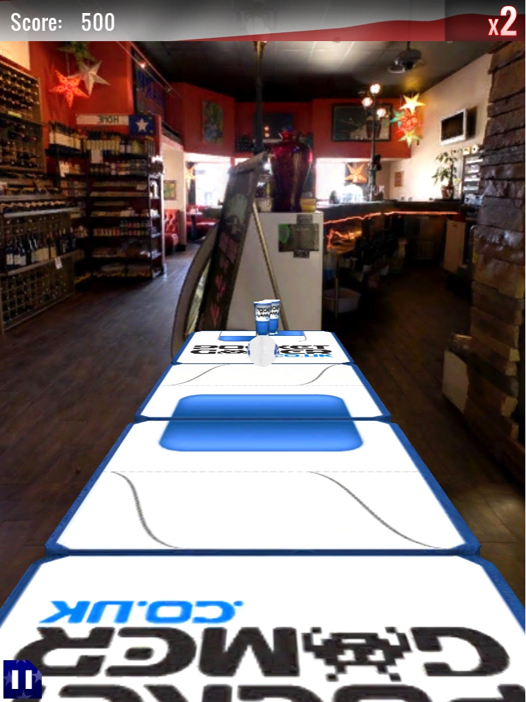 Pocket Gamer is Table of the Month in Beer Pong HD