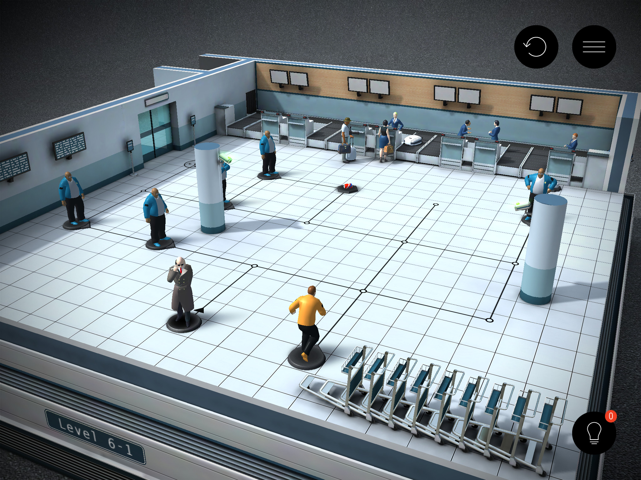 Hitman GO, Square Enix's Silver Award-winning twist on the assassin formula, has been updated with a new airport chapter for iPad and iPhone