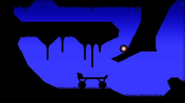 Silver Award-winning touchscreen-swiping puzzle-platformer NightSky is free right now on iPad and iPhone
