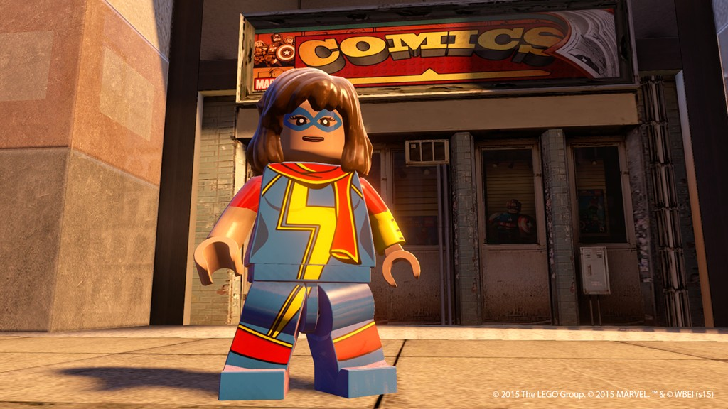 Assemble the bricks as Lego Marvel's Avengers releases on PS Vita and 3DS