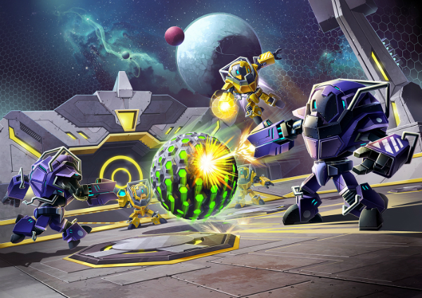 E3 2015: Metroid Blast Ball forms part of Metroid Prime: Federation, and this is what it looks like