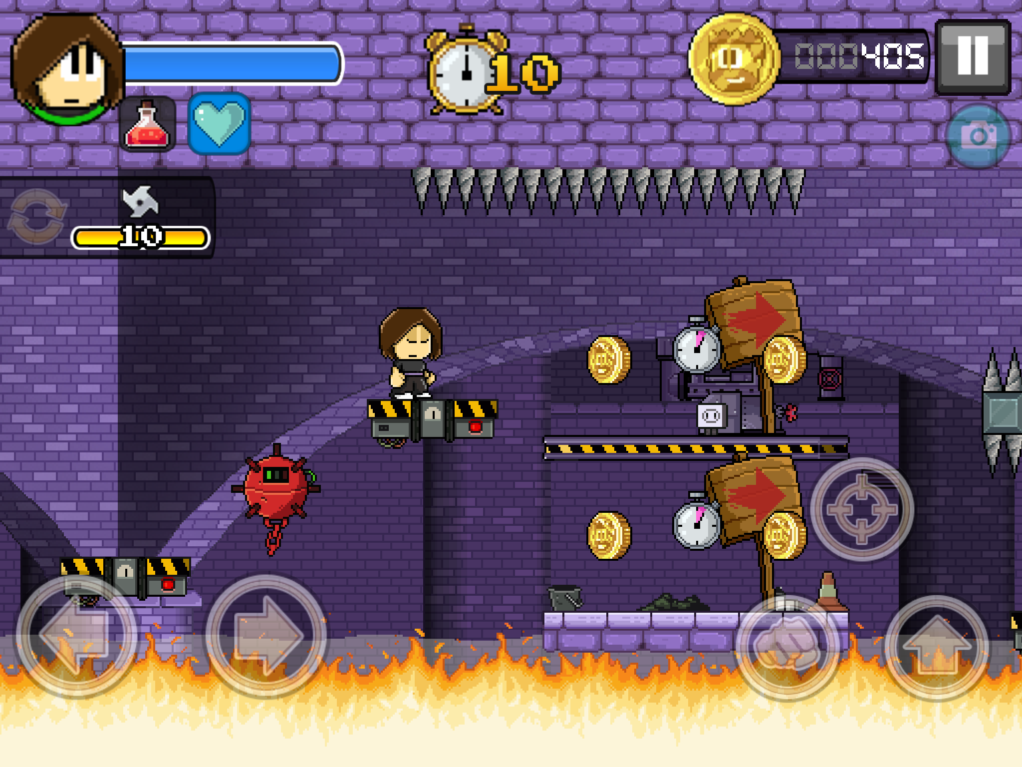 Dan the Man review - A mobile platformer with a retro twang
