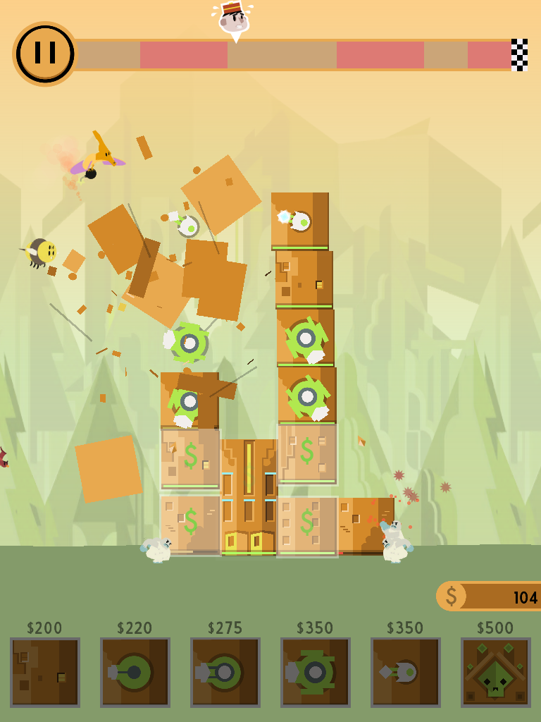 Check into the Bad Hotel, a tower defence soundscape game for the iOS