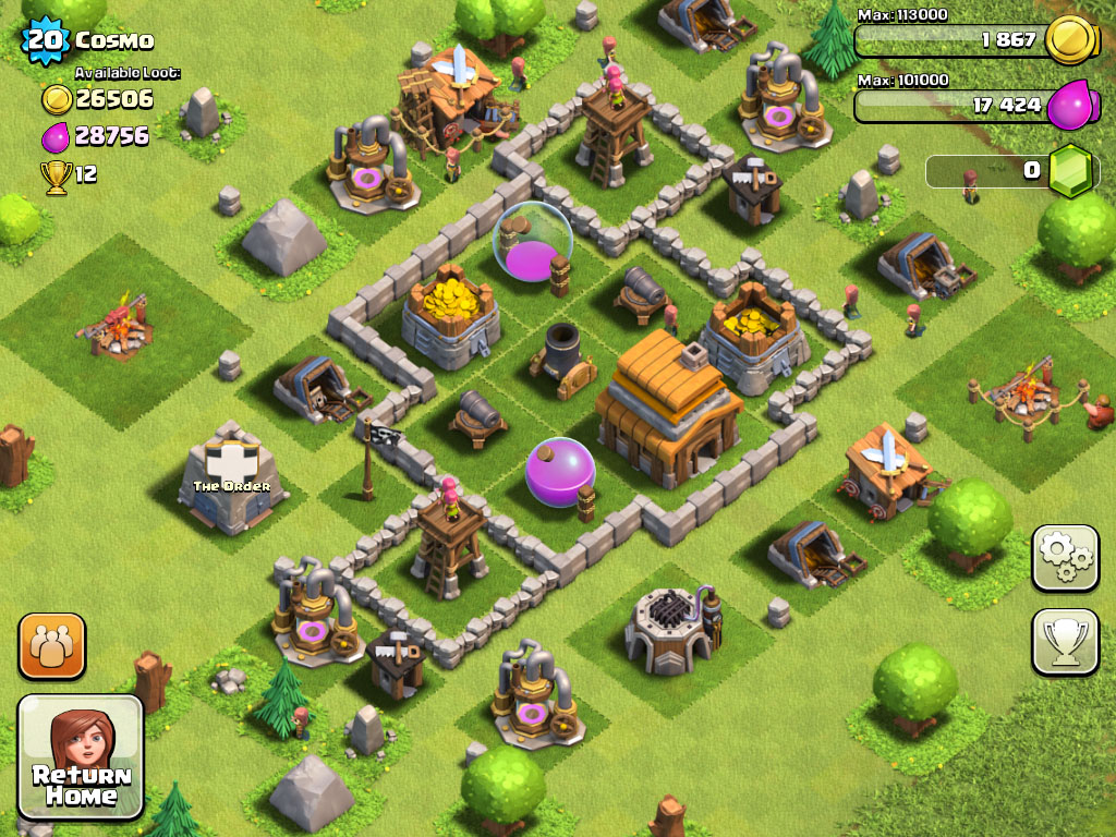 Supercell celebrates Clash of Clans's 1st birthday with a week-long resource collector boost deal