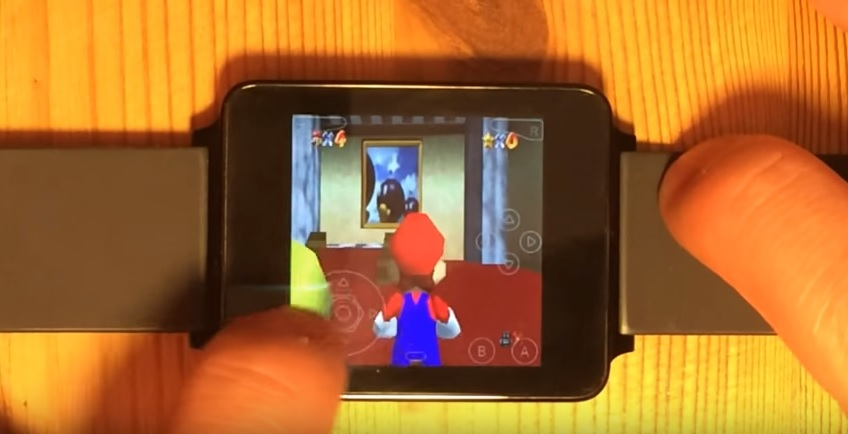 Hacker gets N64 games up and running on Android Wear