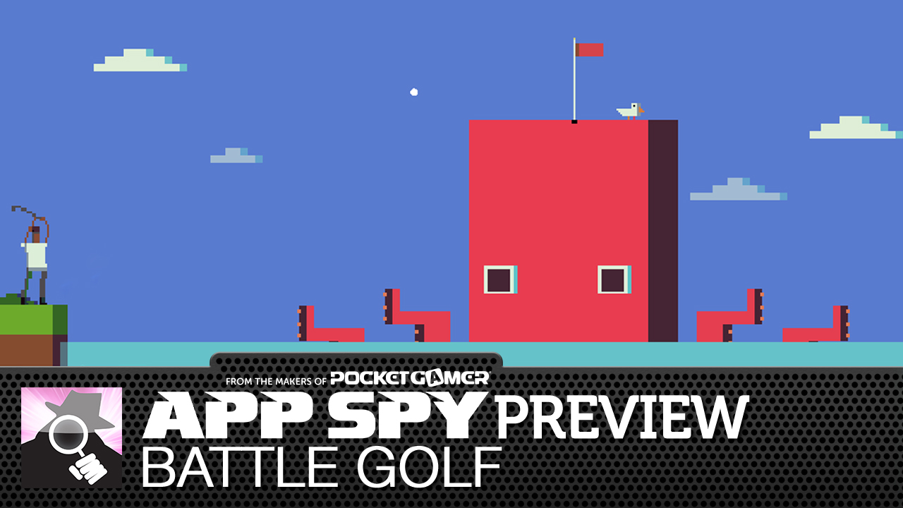 Battle Golf is from the developer of Wrassling, sees you smacking golf balls at a whale