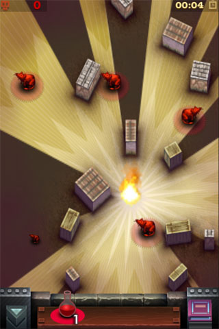 Ratloop destroys iPhone evil by raising up Helsing's Fire