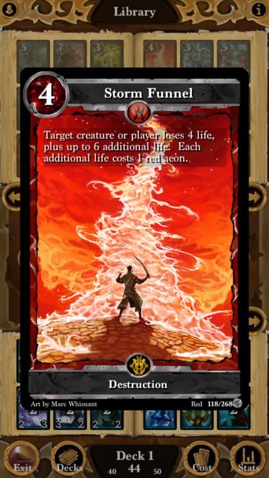 Lost Portal CCG, the solo rogue-ish card game, is just 99p / 99c on the App Store