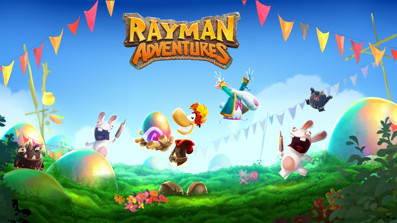 Rayman Adventures has a spring in its step thanks to a brand new Easter-themed update