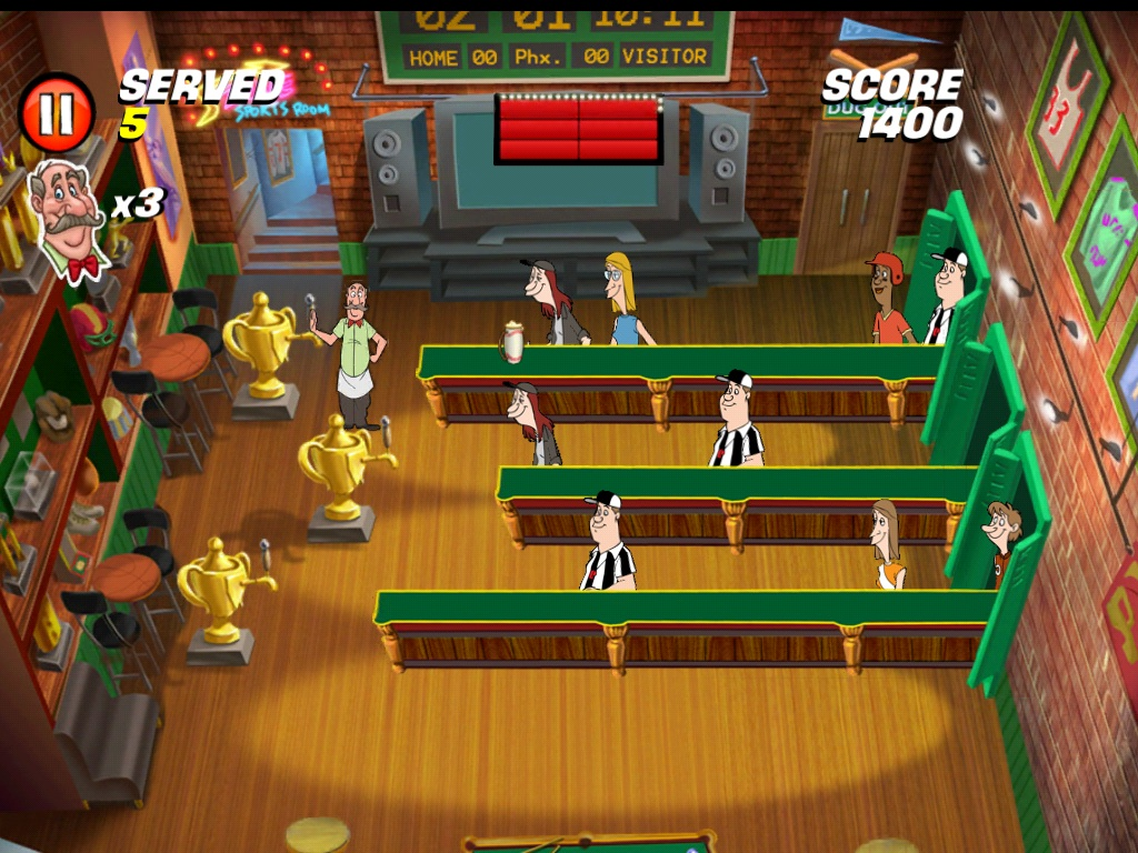 Warner Bros. drafts iPhone and iPad remake Tapper World Tour