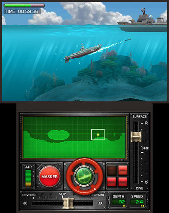 Nintendo's 3DS launch title Steel Diver will resurface as a free-to-play experience