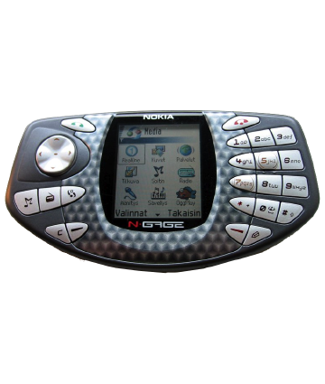Nokia N-Gage: five years old