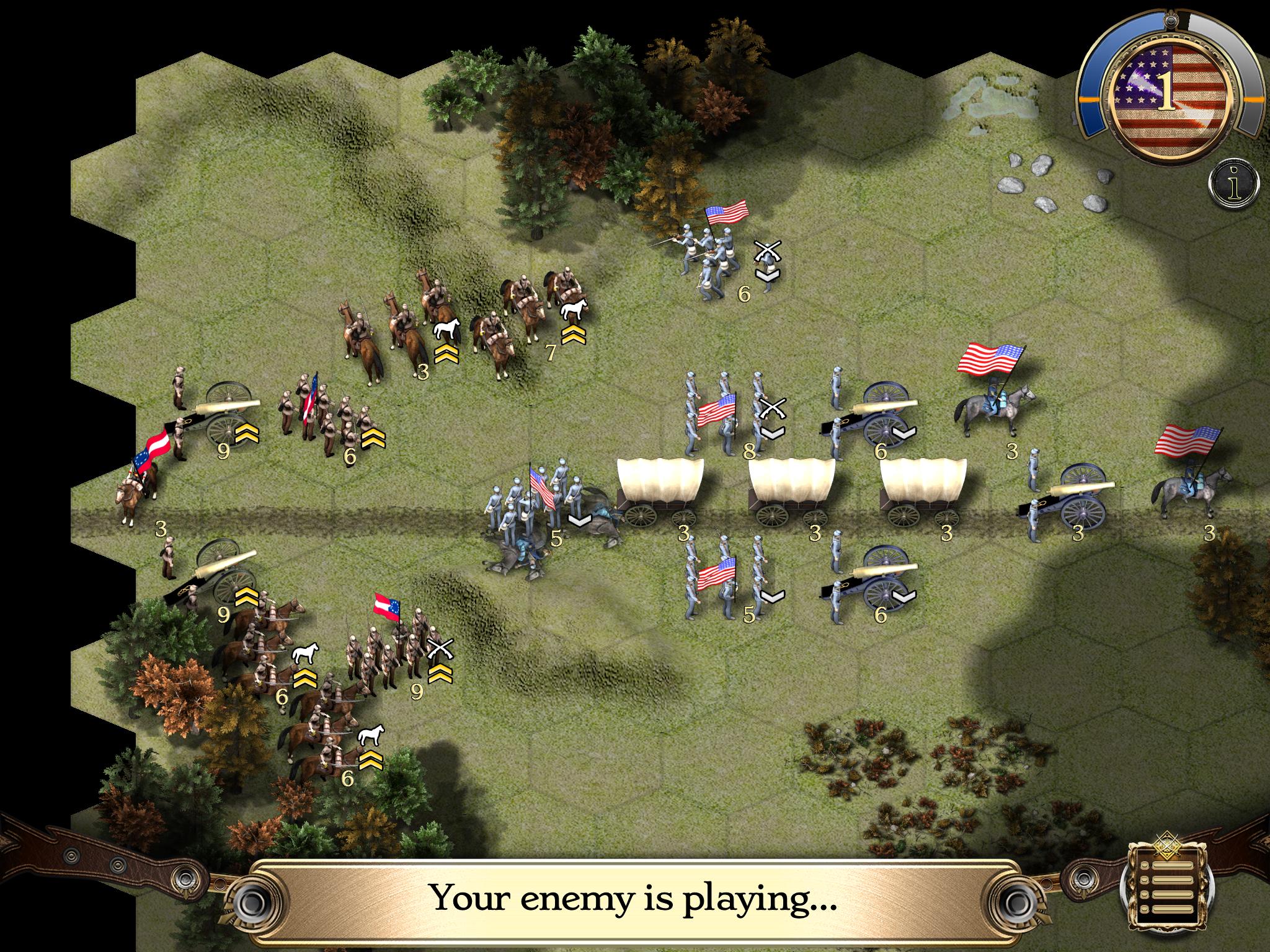 Civil war II:1862