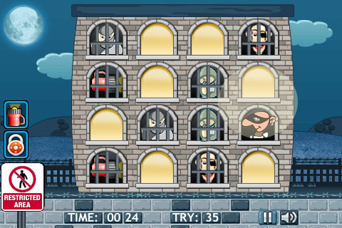 Free iPhone game: Catch A Thief