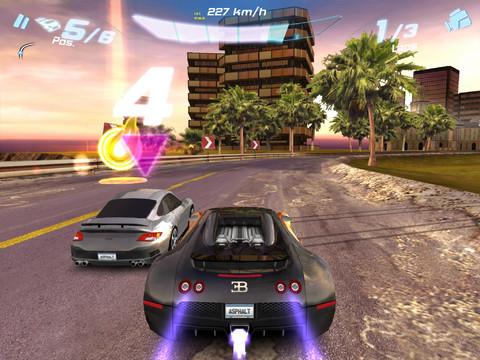 Gameloft's Asphalt 6: Adrenaline, Modern Combat 3, and more optimised for the new iPad's Retina display