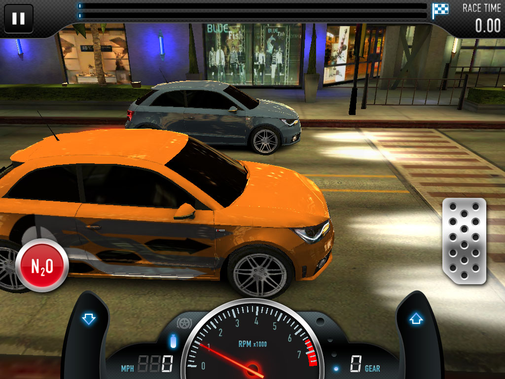 Take Audi's gorgeous R8 powerhouse for a spin in CSR Racing for Android