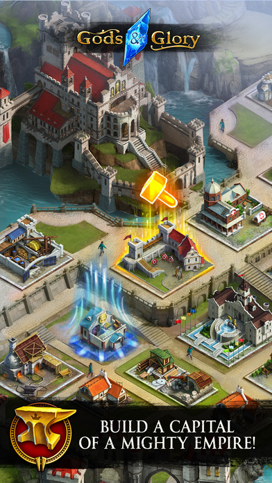 Gods and Glory is a casual-ish fantasy MMO out now for iOS and Android