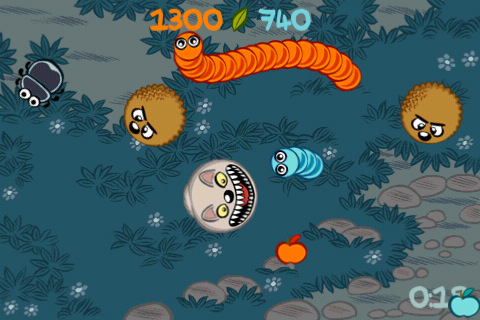 Free iPhone game: Doodle Grub