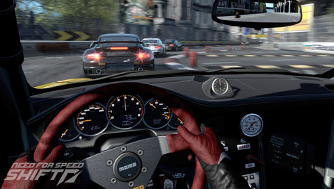 Need for Speed Shift brings first person racing to PSP