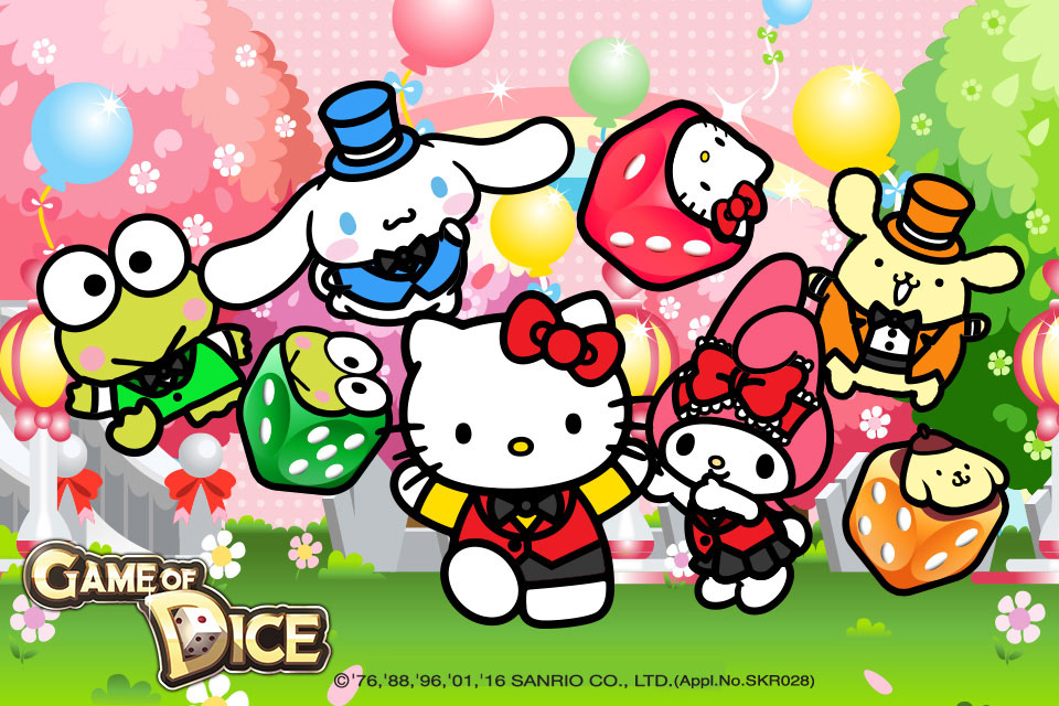 Kawaii fans rejoice: JoyCity releases Game of Dice x Hello Kitty & Friends update