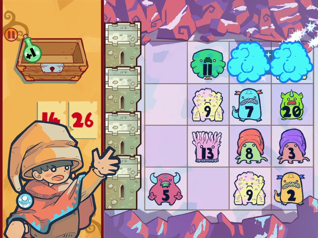 You'll use the power of maths to defeat monsters in cutesy iOS game The Counting Kingdom