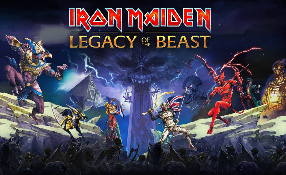 The latest Iron Maiden: Legacy of the Beast update brings us a new character and a new PvP arena atop a Mayan Pyramid