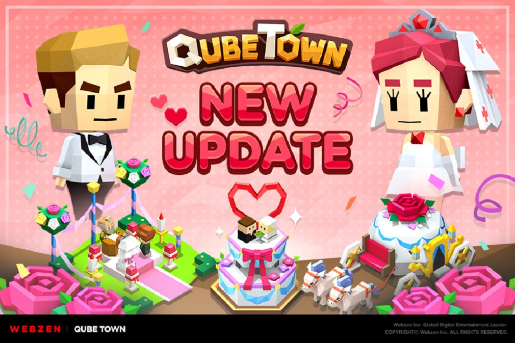 New wedding festival update for QubeTown adds a ton of fresh content