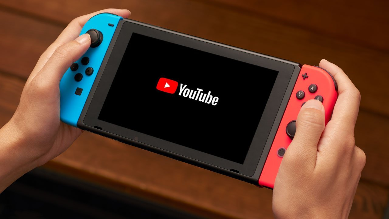 YouTube has finally landed on the Nintendo Switch
