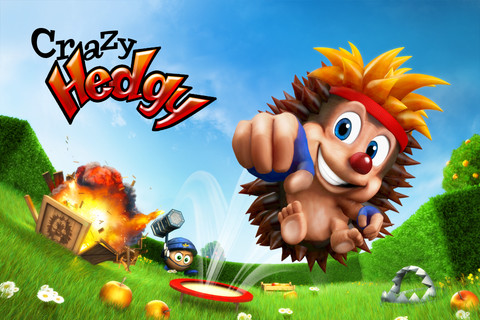 Silver Award-winning iOS platformer Crazy Hedgy now just 69p/99c for a limited time