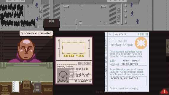 Gamescom '14: Bleak passport check 'em up Papers, Please is coming to Vita