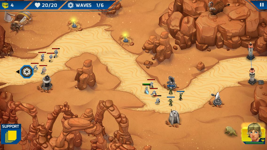 скачать star wars galactic defense