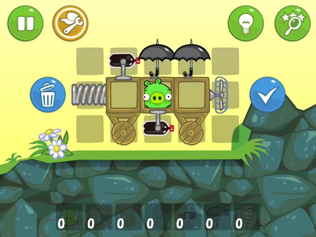 Bad Piggies gain 15 extra levels and a replay sharing function in new update