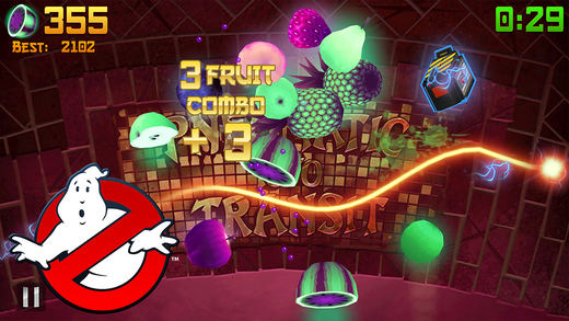 Fruit Ninja gets Ghostbusters fruit and equipment to celebrate the film's 30th anniversary