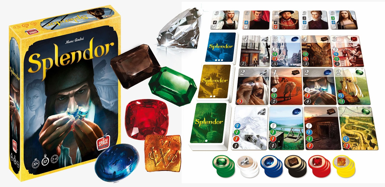 WIN: 10 copies of Splendor are up for grabs!