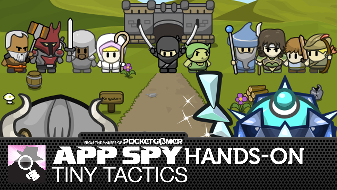 Tiny Tactics is a curious cross of Advance Wars and Clash of Clans