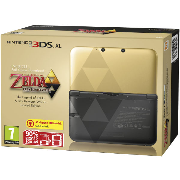 [Update] Ninty's The Legend of Zelda-themed 3DS XL and Luigi-themed 3DS XL will be available in Europe in November