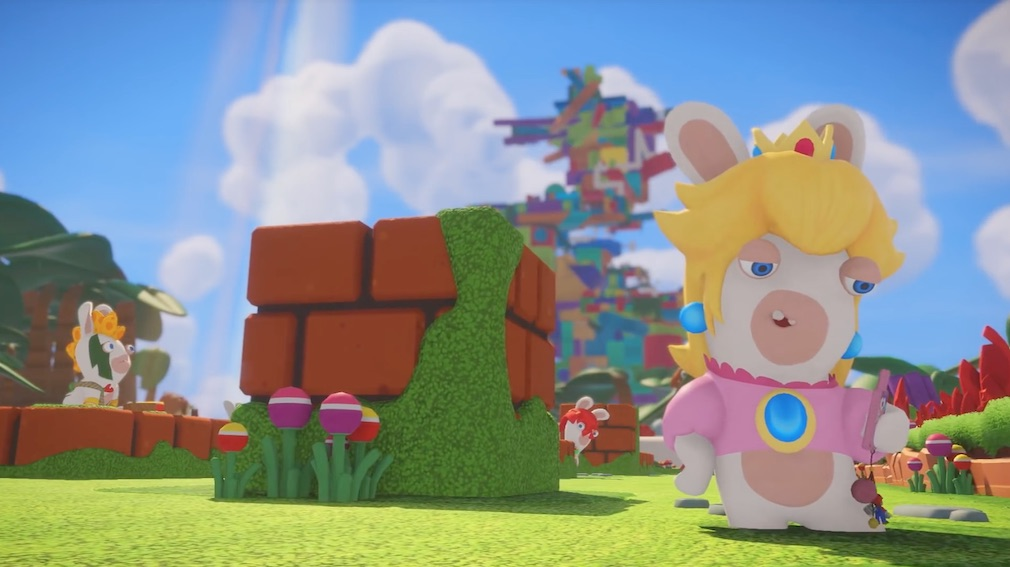 Rabbid Peach is set to aid fighters in Super Smash Bros. Ultimate