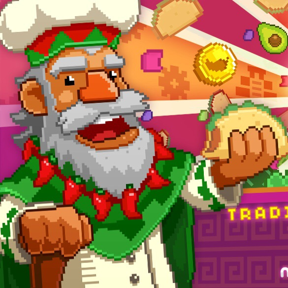 Fill tortillas by doing literally nothing in upcoming Noodlecake idle game, Much Taco