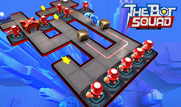 Ubisoft's The Bot Squad: Puzzle Battles is a F2P hybrid of robotic defense and puzzle games