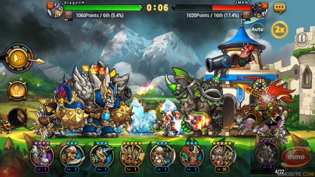 RPG Seven Guardians stylishly side-scrolls onto iOS and Android