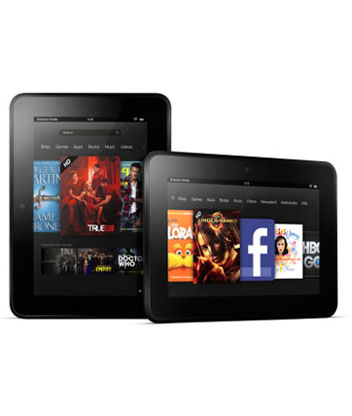 7-inch Kindle Fire tablets now available for UK pre-order, but not the 8.9-inch signature HD device