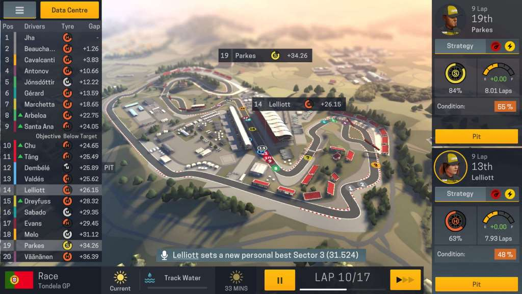 [Update] Warm up your tires as Motorsport Manager 2 arrives on iPhone and iPad