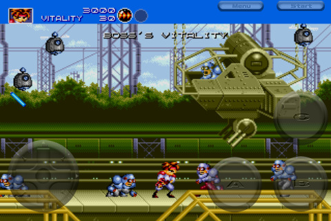 Mega Drive classic Gunstar Heroes hits iPhone