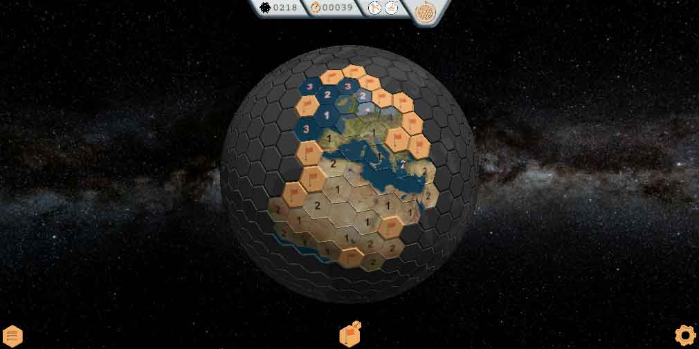 Globesweeper is a fresh, modern take on the classic puzzler Minesweeper