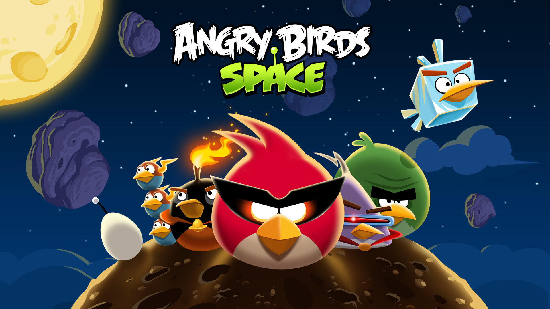 Angry Birds Space finally lets you fire a bird at Uranus with Solar System update