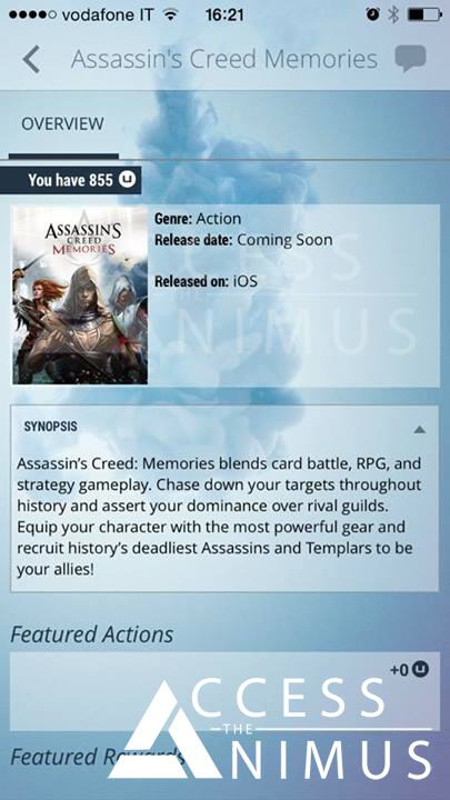 Assassin's Creed Memories is an upcoming hidden-blade swinging card battler for iOS and Android