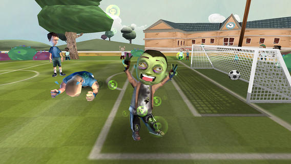 Score a goal in Soccer Moves using the intuitive and charming football-based puzzles