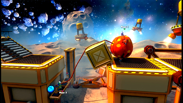 Shiftlings is an amusing co-operative sci-fi puzzle platformer heading to iOS, Android, and Ouya